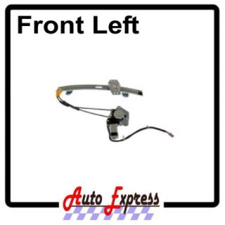 New Honda Accord Front Left Driver Side Window Regulator w Motor Acura CL Coupe