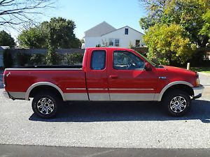 1997 Ford F150 Crew Cab with Third Door Aftermarket Wheels