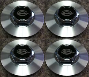 "Set of 4 Aftermarket Center Caps for Chevy Impala 16"" and SS 17"" Wheels"
