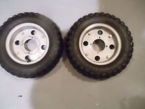 Honda Mini Trail Original Tires Rims Nitto Very RARE Tires
