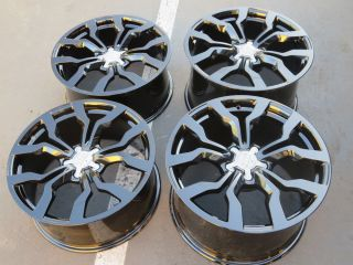 "2013 19"" Audi R8 Factory Black Wheels Speedline GT V8 V10"