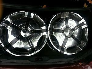 18 inch Rennen Rims Wheels Chrome Used Maxima Camry Accord