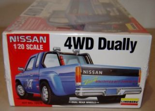 Lindberg Nissan 4x4 Dually Pickup Truck gms Customs Factory SEALED Model Kit