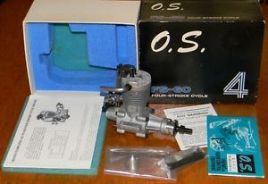 New 1976 OS FS 60 Open Rocker R C Model Airplane Engine Four Cycle 4 Stroke