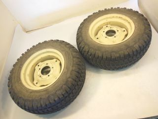 Cub Cadet 124 Garden Tractor Narrow Frame Rear Wheels Rims Tires 23x8 50 12