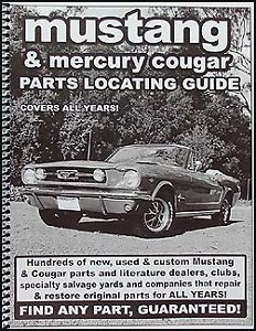 Find Ford Mustang Parts with Book 1965 1966 1967 1968 1969 1970 1971 1972 1973