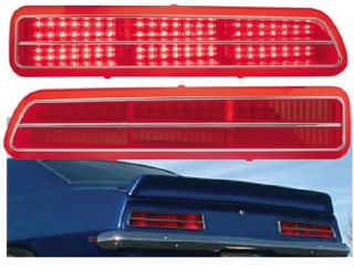 Pair LED Tail Lights Camaro 1969 Chevy Rallye Sport Muscle Car Pro Touring Vtg