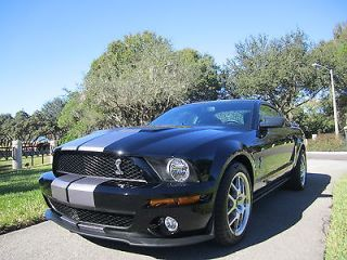 2007 Ford Shelby Cobra GT500 6SP Coup Only 2300 Miles 1 FL Owner It Is Perfect