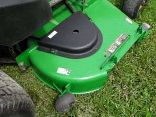 John Deere 777 72 Zero Turn Commercial Ztrak Lawn Mower