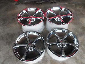 GM Corvette C6 Chrome Grand Sport Wheels Rims 2006 2013 Also Fits Z06 LS3 7
