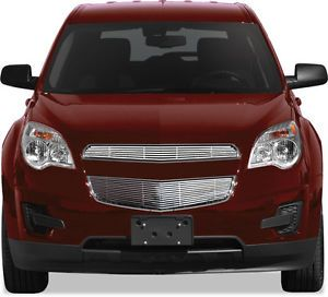 Chevrolet Equinox Billet Grille Grill Insert Chrome Stainless Steel 2pc Upper