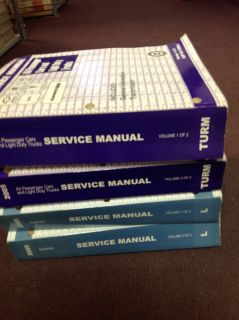 2005 Chevy Chevrolet Equinox Service Shop Repair Manual Set w Unit Books Huge