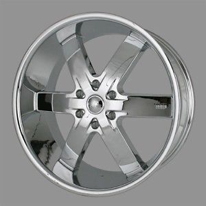 "24"" U2 55 s Rims Chrome Wheels Tires Escalade Yukon GMC Armada Denali QX56 22 20"