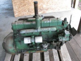 Nice Complete Good Running Oliver 77 88 770 880 Super Diesel Tractor Engine
