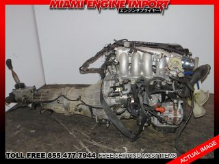 Nissan Silvia 240sx JDM SR20DET s14 Engine Manual Transmission Motor sr20 Turbo