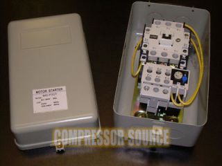 New 5 HP Single Phase Magnetic Starter Motor Control