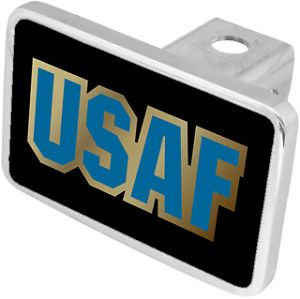 New USAF Air Force Military Hitch Cover Plug