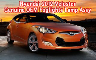 2012 2013 Hyundai Veloster Fog Light Lamp Wiring Harness Complete Kit