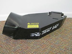 "Trac Vac Leaf Vacuum Bagger Deck Boot 8"" Chute for John Deere Lawn Mower"