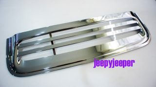 Chrome Hood Scoop Air Flow Vent Cover Toyota Hilux MK7 Champ Fortuner 2011 On
