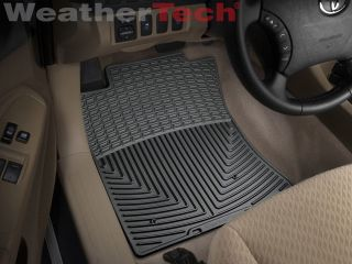 Weathertech® All Weather Floor Mats Toyota Tacoma Access 2005 2011 Black