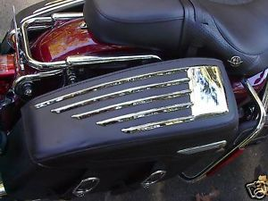 Harley Davidson Road King Classic Saddlebag Chrome Trim