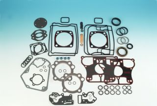 Complete Engine Motor Gasket Kit for 84 91 Harley 1340cc Evolution Big Twin EVO