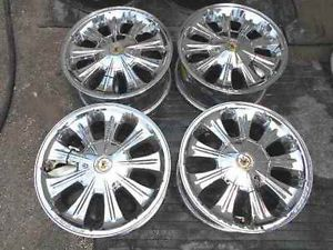"Vogue 16"" Chrome Alloy Wheel Rims Set for Cadillac LKQ"
