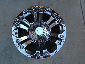 18 inch Chrome Wheels Rims Chevy Dodge 6 Lug Truck Tahoe 6x135 XD Series Monster