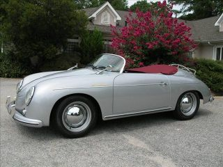 1956 Porsche 356 Speedster 1915 Dual Carb Look at Colors $3K in Options 6mth War