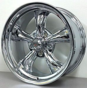 "17"" 8 Lug Chrome Wheels"