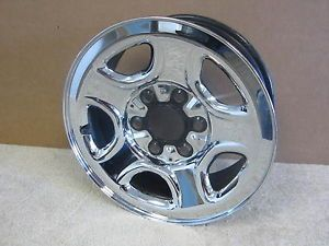 "Silverado Sierra Tahoe Suburban Sharp 16"" Chrome Wheel 9595394 6722"