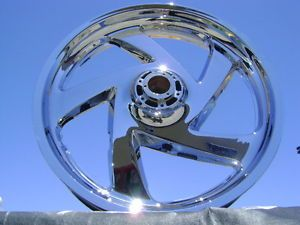 Honda Goldwing GL1800 GL 1800 Chrome Front Wheel Rim