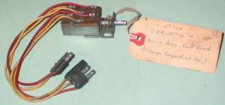 1958 1959 Ford Fairlane Galaxy Retractable Roof Switch B8A 15716 A