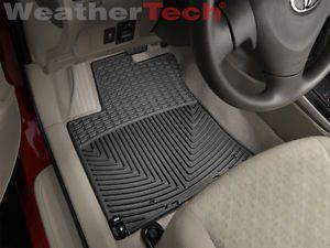 Weathertech® All Weather Floor Mats Toyota Corolla 2009 2013 Black