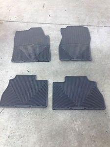 WeatherTech All Weather Floor Mats W72 W70 Black Chevy GMC Cadillac