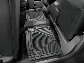 Weathertech® All Weather Floor Mats 1993 2010 Ford Ranger Black