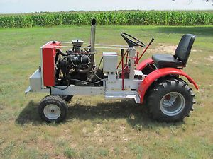 Mini Tractor Puller V 4 Ford Engine 2 Trans Hot Cub Cadet Pulling