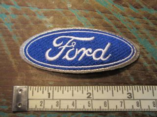 FORD OVAL RACING PATCH SHELBY MUSTANG COBRA GT500 FALCON FAIRLANE PINTO SVT GT40