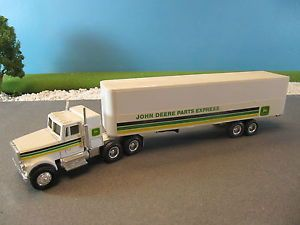 Ertl Diecast International Tractor Trailer Truck John Deere Parts Express 1 64