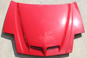 93 97 Trans Am WS6 RAM Air Hood Red Used GM