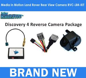 Media in Motion Land Rover Rear View Camera Interface Kit RVC LR4 Kit