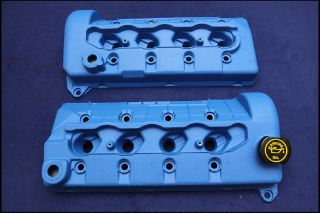 Ford Racing Blue Valve Covers 03 04 Mustang Cobra 4 6 DOHC Mach 1 GT Supercar