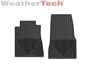 Weathertech® All Weather Floor Mats Ford Mustang 2013 Black