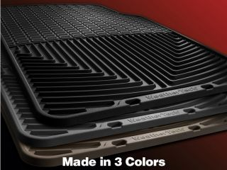 Weathertech® All Weather Floor Mats Ford F 150 Regular Cab 2011 2013 Black