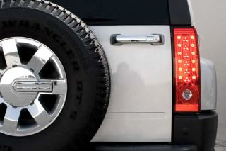 Ipcw 06 09 Hummer H3 LED Tail Lights Red Truck SUV Rear Lighting Ledt 346CR