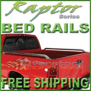 1988 98 Chevy Silverado GMC Sierra 8ft Long Bed Stainless Raptor Truck Bed Rails