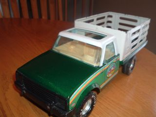 Nylint Toy Used Chevy Luv Stake Bed Truck Flat Bed Toy Pressed Steel Toy LQQK