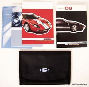 2006 Ford GT Supercar Owners Manual and Ford Portfolio