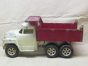 Vintage 1960's Ertl International Hydraulic Dump Truck for Parts Made in USA